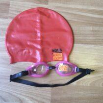 Koupací čepice Aqua + brýle do vody