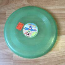 Létající talíř, zelený