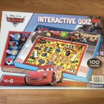 Interaktivní hra Clementoni – kvíz Cars