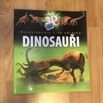 Kniha – Encyklopedie s3D obrázky – Dinosauři