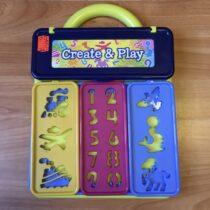 Šablony na kreslení Crate&Play