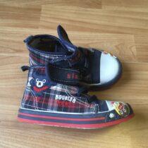 Kotníkové plátěné boty Slobby