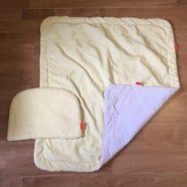 Set deka + polštářek do kočáru Emitex