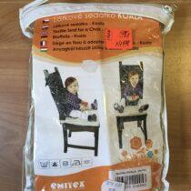 Látkové sedátko na židli Koala Emitex