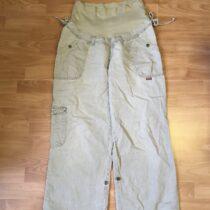 Těhotenské plátěné kalhoty Windstar