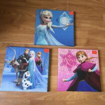 Frozen set obrázků, 3ks