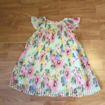 Plisované šaty H&M růže