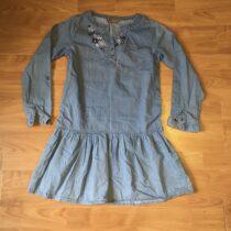 Riflfové šaty  Cool club