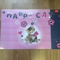 Psací podložna Happy Cat 60 x 40cm