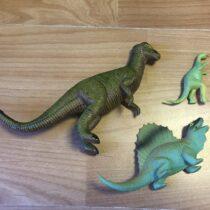 Sada dinosaurů, 3ks