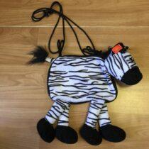 Plyšová kabelka – Zebra