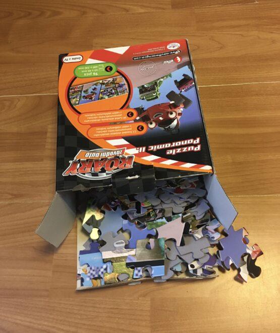 Puzzle Roary, 96ks