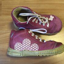 Kožené kotníkové boty Pegres