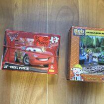 Puzzle Cars a Bořek stavitel