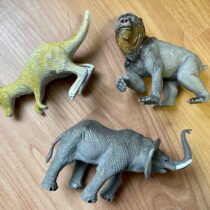 Set 3 ks zvířátka Safari