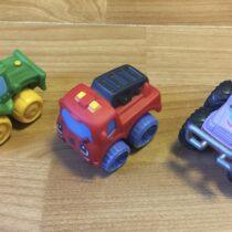 Sada mini autíček Tonka, 3ks