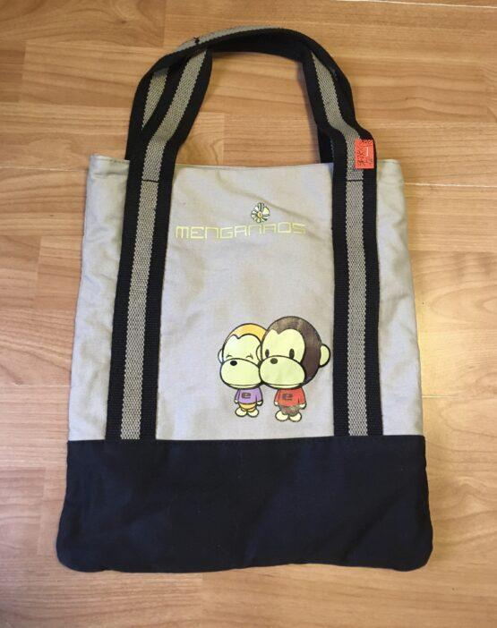 Látková taška Menganaos sopičkou