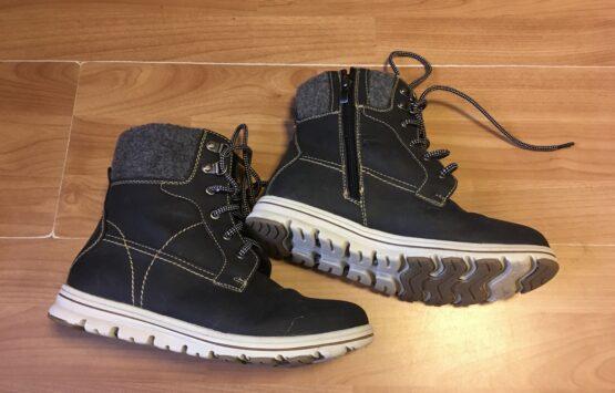 Vyteplené boty nad kotník