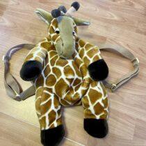 Plyšový batoh Žirafa