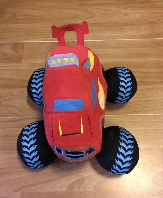 Látkové/plyšové auto Monster truck