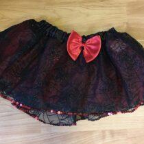Kostýmová sukně Claires vzor pavučina