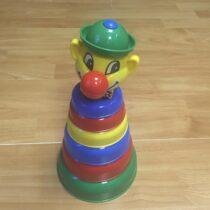 Stohovací plastový klaun