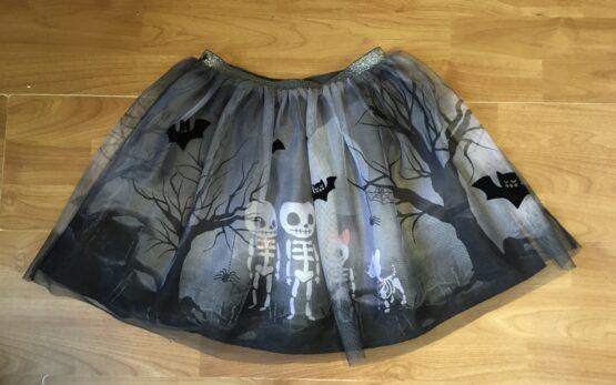 Kostýmová sukně H&M, netopýři