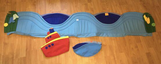 Kapsář/mantinel na velkou postel slodí