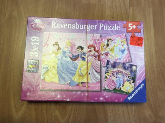 Puzzle Princess, 3 x 49ks