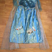 Kostým Frozen + kabelka + šperk