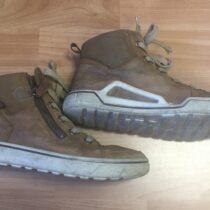 Kožené kotníkové boty Ecco