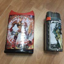 Lego set Bionicle Pirana+Gladiator Legend Zaktan Ackar