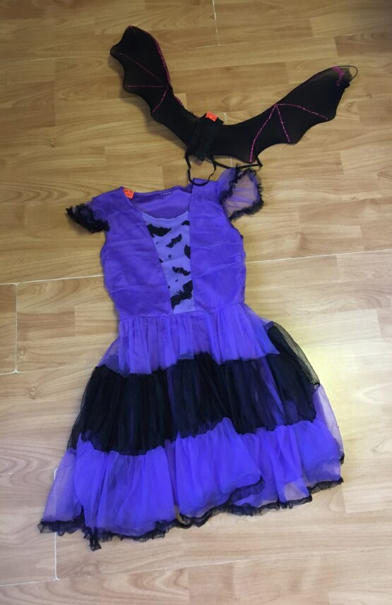 Kostým netopýří šaty