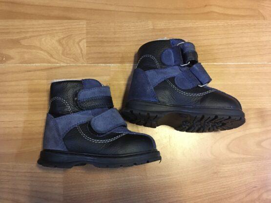 Zimní vyteplené kotníkové boty