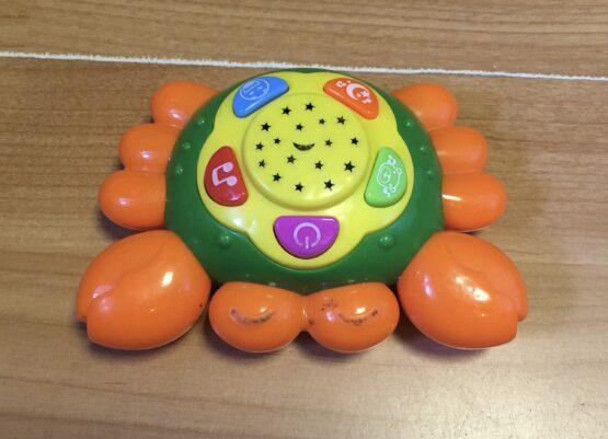 Zvuková hračka – Krab