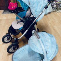 Dvojkombinace kočár Baby Design Husky