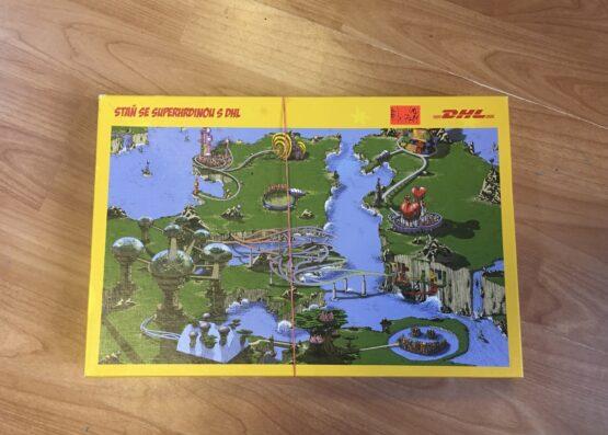 Puzzle – Staň se superhrdinou DHL, 160ks