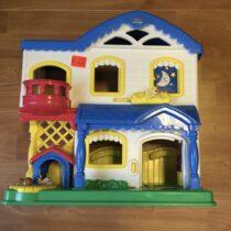 Fisher Price Little People plastový domeček pro panenky, zvířátka od panáčků Little People